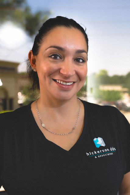 Janette E., a registered dental assistant at Hickerson & Associates, DDS. PC. in Houston, TX.